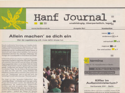 Hanf Journal #001