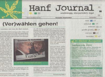 Hanf Journal, Ausgaben #11 bis #20