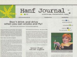Hanf Journal, Ausgaben #2 bis #10