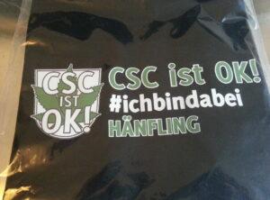 CSC ist OK! Hänflings Shirt